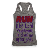 Run Like Lord Voldemort is Chasing You