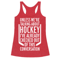 Unless We're Talking About Hockey