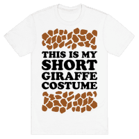 Short Giraffe Costume