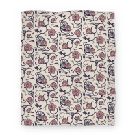 Sleeping Beauty Briar Rose Floral Pattern