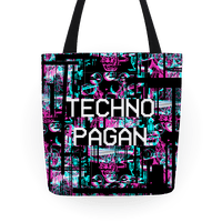 Techno Pagan Glitch Art