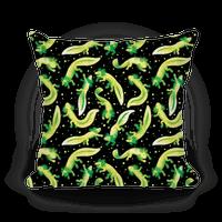 Green Fluorescent Axolotl Pattern