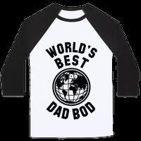 World's Best Dad Bod Baseball