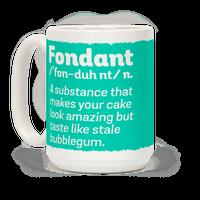 Fondant Definition Mug