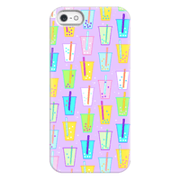Boba Bubble Tea Pattern