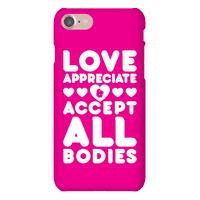 Love Appreciate And Accept All Bodies