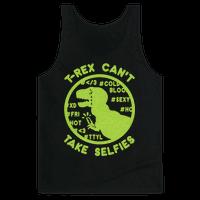 T-Rex Can't Take Selfies
