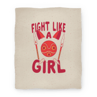 Fight Like A Girl San Parody
