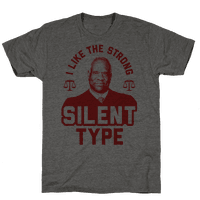I Like The Strong Silent Type