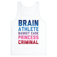 Brain, Athlete, Basket Case, Princess, Criminal