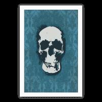 Sherlock Pop Skull Poster