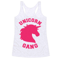 Unicorn Gang Racerback