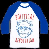 Bernie Political Revolution Baseball