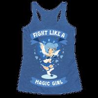 Fight Like A Magic Girl Sayaka Parody