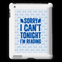 Sorry I Can't Tonight, I'm Reading