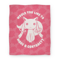 Would You Like To Make A Contract? Blanket