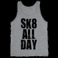 Skate All Day (Tank)