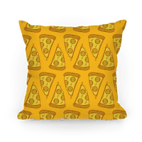 Pizza Pattern Pillow
