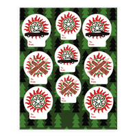 Winchester Family Christmas Sticker