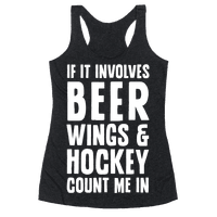 If It Involves Beer Wings & Hockey Count Me In