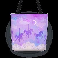 Pastel Carousel Unicorns