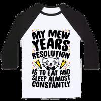 My Mew Years Resolution