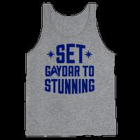 Set Gaydar To Stunning