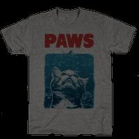 PAWS (Jaws Parody tee) Tee