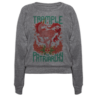 Trample The Patriarchy Pullover