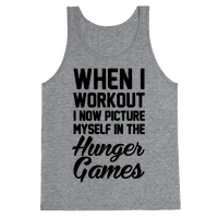 When I Work Out I Now Picture Myself In The Hunger Games