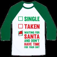 Single Taken Waiting For Santa
