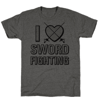 I Love Sword Fighting