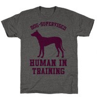 Dog Supervised Human in Training Tee
