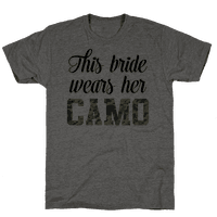 This Bride Wears Her Camo