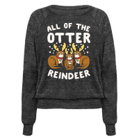 All of The Otter Reindeer Pullover