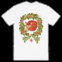 Sleeping Fox Wreath