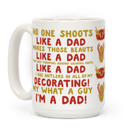 No One Shoots Like A Dad Makes Those Beauts like a Dad Mug
