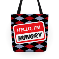 Hello I'm Hungry Tote