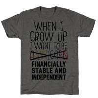 When I Grow Up I Want To Be...Financially Stable