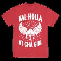 Val-Holla at Cha Girl