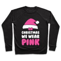 On Christmas We Wear Pink