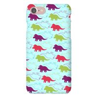 Triceratops Dino Pattern