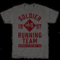 Soldier Running Team