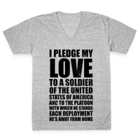 I Pledge My Love (V-Neck)