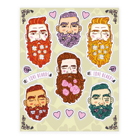 Boys With Beards Sheet