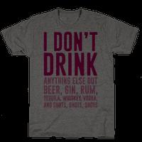 I Don't Drink