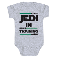 Jedi In Training Baby