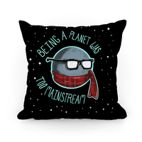 Hipster Pluto Pillow