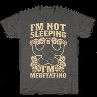 I'm Not Sleeping I'm Meditating