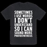 Sometimes I Use Words